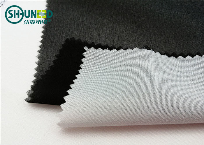 Double Dot 70gsm Snow White Shirt Interlining Fusible Collar For Men And Woven Shirt