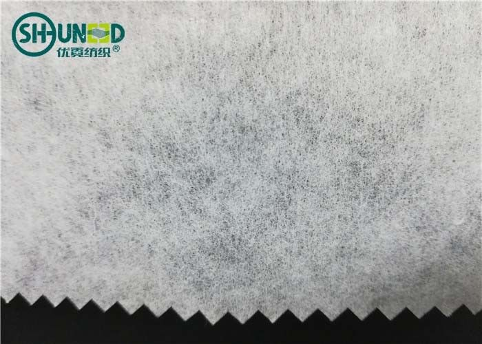 SGS Polyester/ Rayon mixed Crisp tear away embroidery backing fabric for garment embroidery